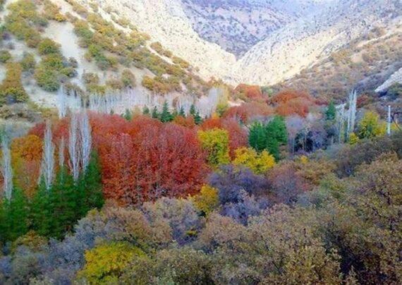 آشنایی با دره گنجه ای از توابع استان کهگیلویه و بویر احمد