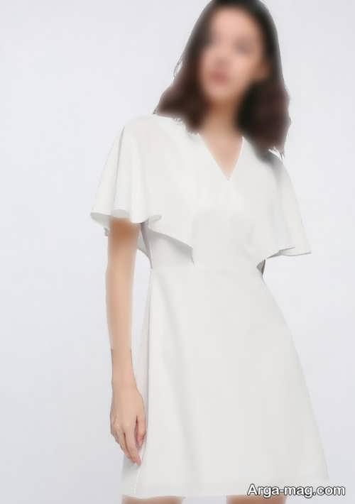لباس ساده برای اندام ساعت شنی