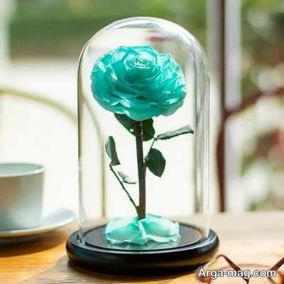 چگونگی ساخت گل رز جاودان