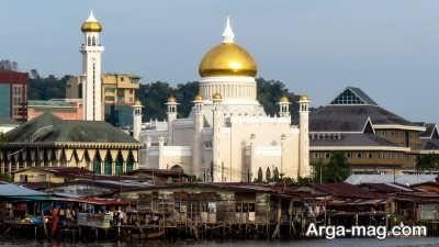 بازدید از مساجد معروف در برونئی