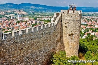 بازدید از قلعه ساموئل در مقدونیه