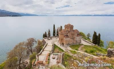 بازدید از کلیسای سنت جان در مقدونیه