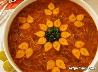 طرز تهیه سوپ رشته