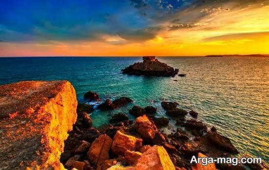 آَنایی با جزایر ناز واقع در جنوب کشور