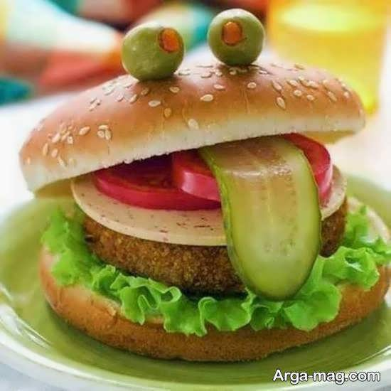 ایده هایی متفاوت و ناب از تزیینات همبرگر