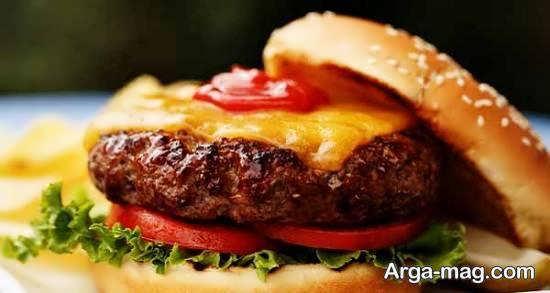 ایده های ناب و تو دل برو از دیزاین و شکیل ساختن همبرگر