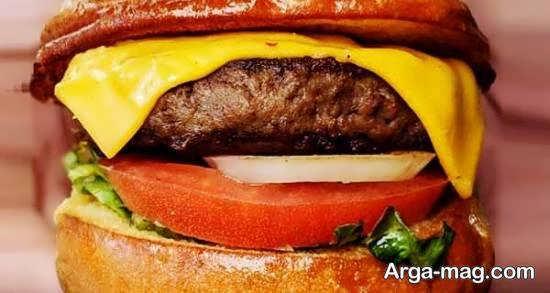 طرح هایی ایده آل و جذاب از تزیین همبرگر