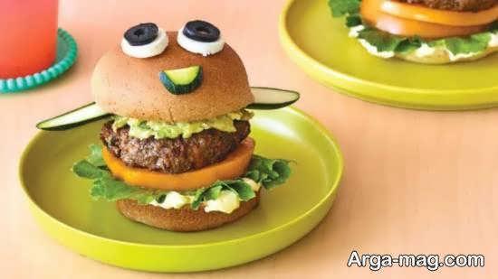 انواع نمونه های ایده آل و تو دل برو از تزیین همبرگر