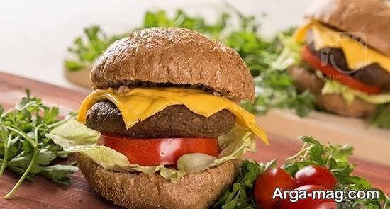 ایده های شیک و منحصر به فرد طراحی همبرگر