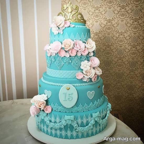 ایده های زیباسازی کیک تولد نوجوان