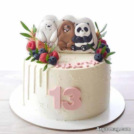 ایده های خلاقانه دیزاین کیک تولد نوجوان