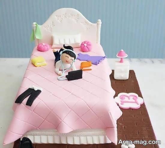 انواع ایده های زیبا و جذاب تزیینات کیک تولد نوجوان