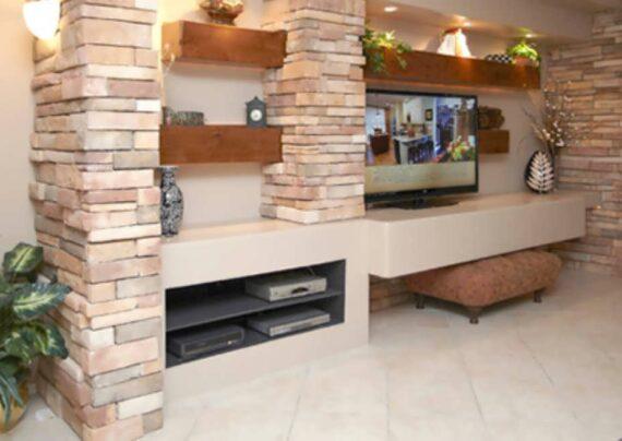 الگوهایی منحصر به فرد از طراحی خانه با سنگ