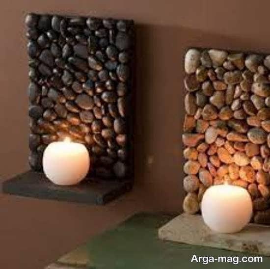 گالری نابی از ایده های تزیین خانه با سنگ