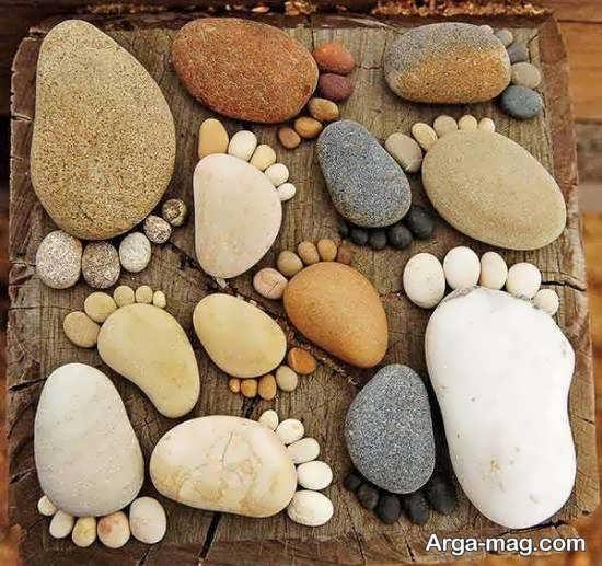 نمونه های منحصر به فرد تزیین منزل با سنگ