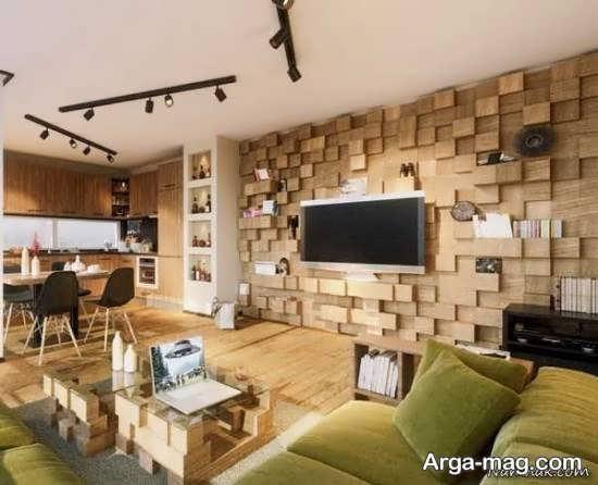 الگوهایی بینظیر از دیزاین و طراحی خانه با سنگ