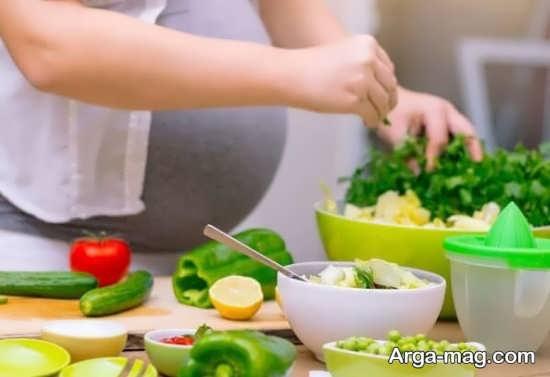 مصرف شام در حاملگی