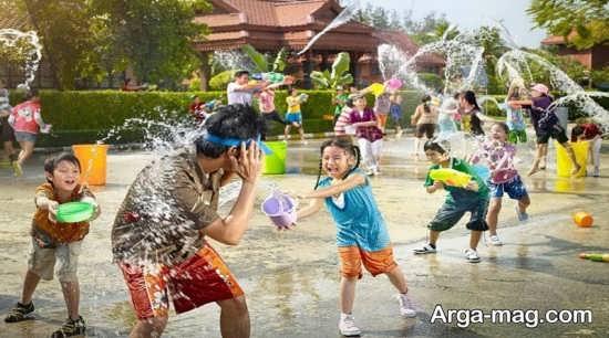 فواید بازی های کثیف با کودکان