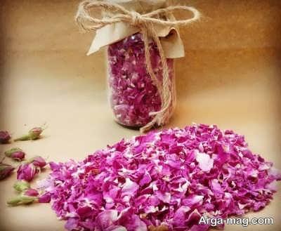روش خشک کردن گل سرخ