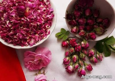 طرز خشک کردن گل سرخ