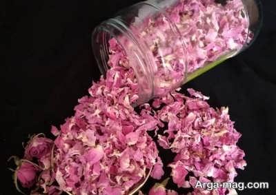 روش های خشک کردن گل محمدی