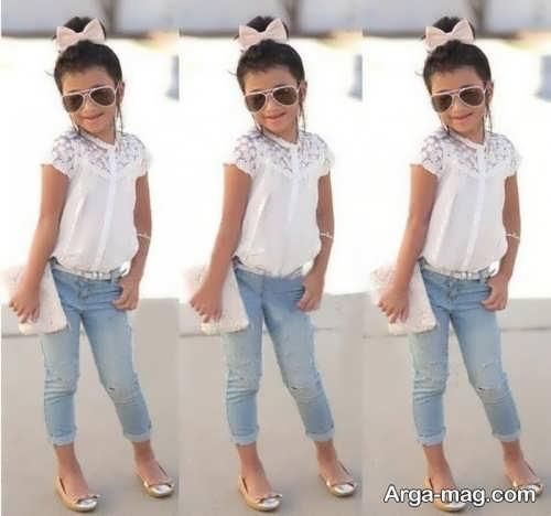 مدل لباس بچه گانه عید 1400