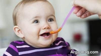 مواد نا مناسب برای کودک 10 ماهه