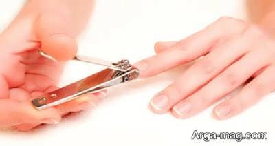 کوتاه کردن ناخن ها