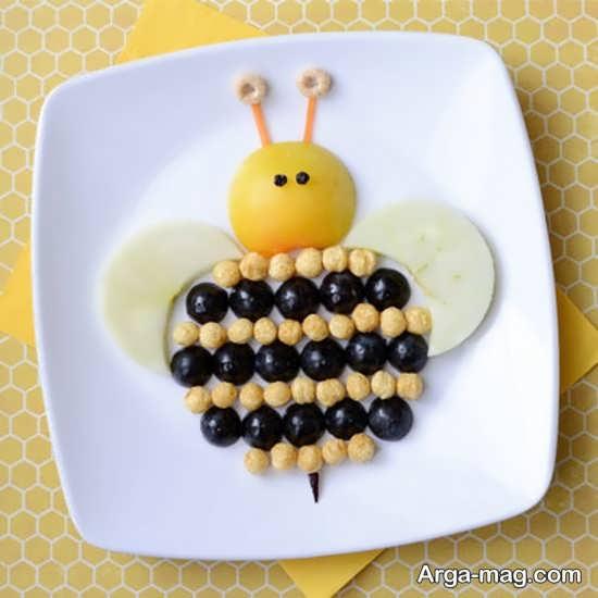 انواع مختلف تزیین میوه برای کودکان