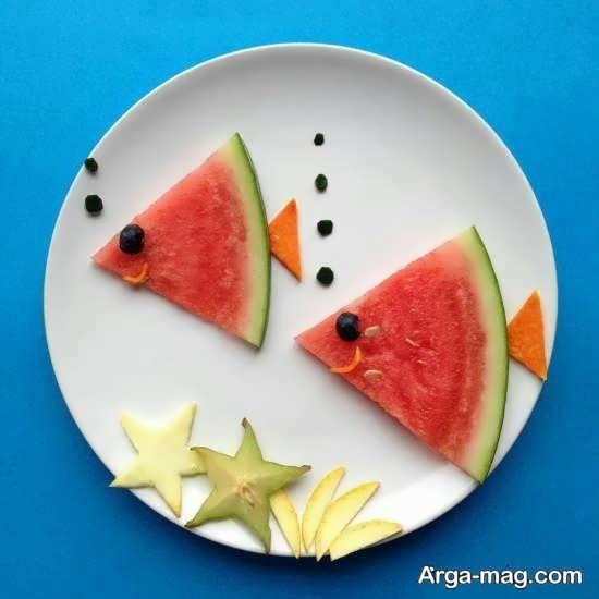 دیزاین قشنگ میوه برای کودکان