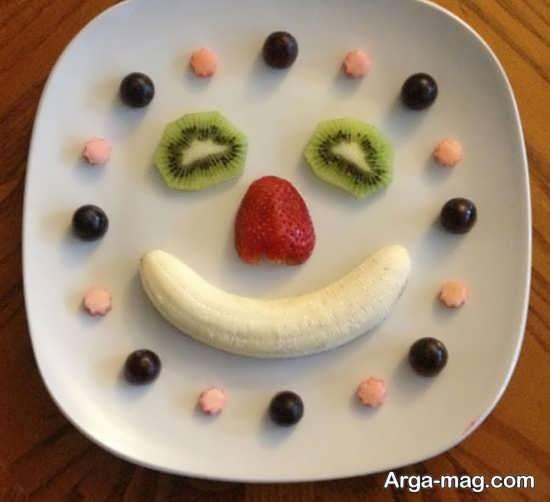 تصویر زیبا از تزیینات میوه
