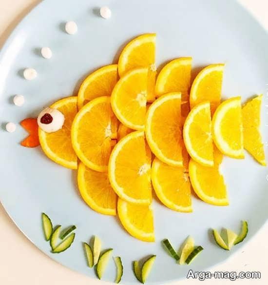 تزیینات پرتقال برای کودکان
