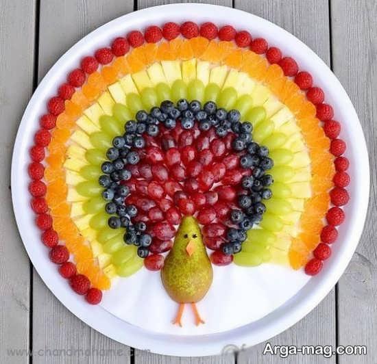 انواع جدید تزیینات میوه برای کودکان
