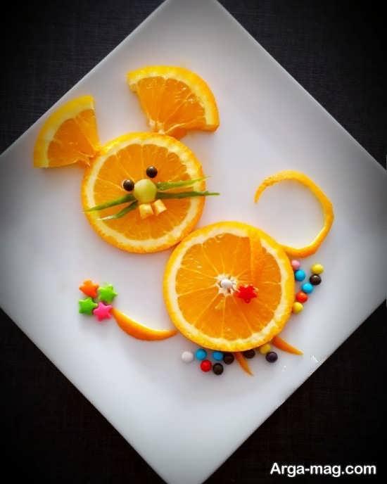 مجموعه جدید تزیین میوه برای کودکان
