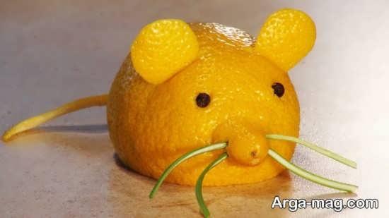 تزیین پرتقال برای کودکان