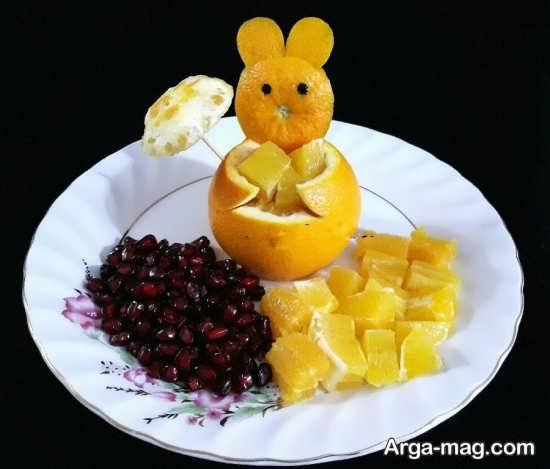 بهترین دیزاین میوه برای بچه ها