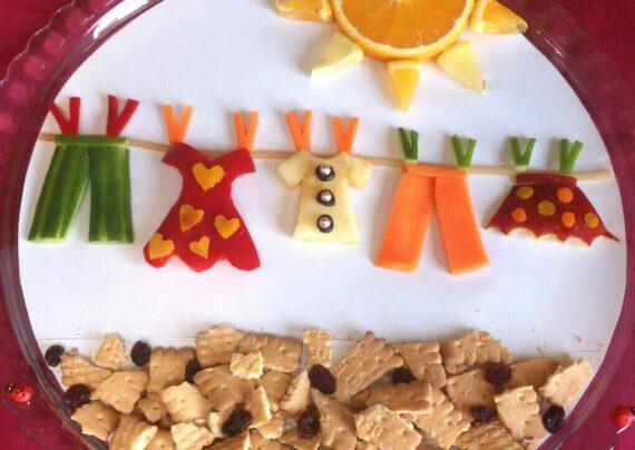 آشنایی با انواع تزیین میوه برای کودکان