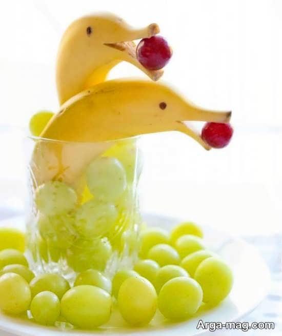 بهترین تزیینات میوه برای کودکان