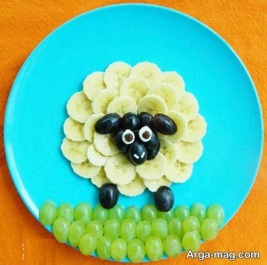 مجموعه دیزاین میوه برای کودکان