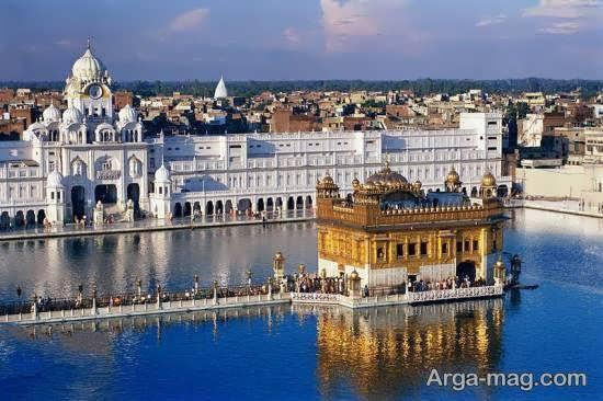 آشنایی با معبد طلایی هند یکی از مقدس ترین معابد هند