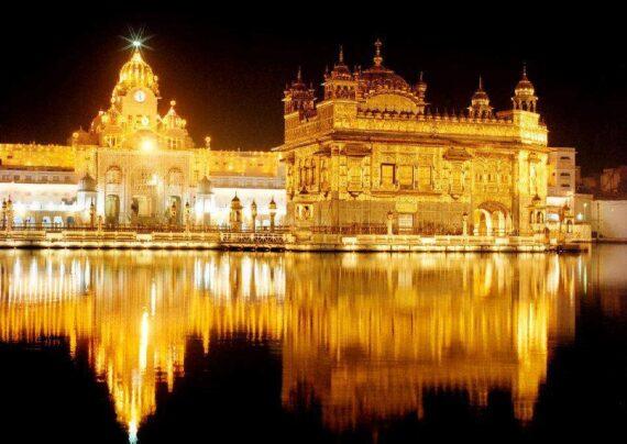 آشنایی با عبادتگاه طلایی هند