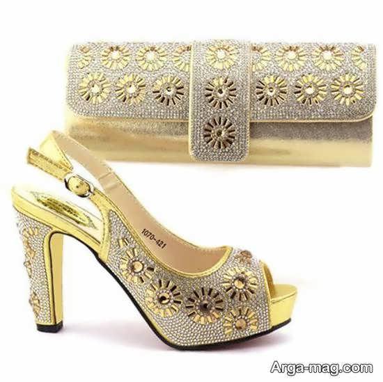 انتخاب و تهیه کفش عروس با رنگ های متنوع