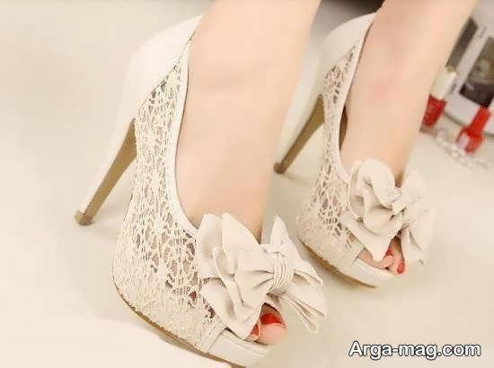 انتخاب و خریداری کفش عروس جذاب و شیک