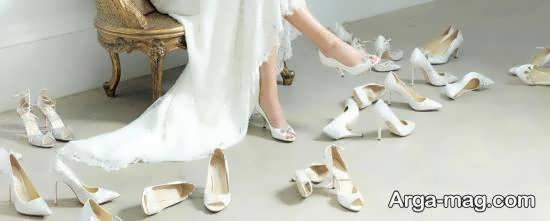 انتخاب و تهیه کفش عروس مناسب