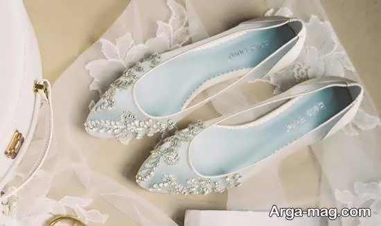 انتخاب و تهیه کفش عروس جدید و لاکچری
