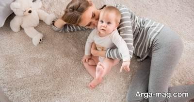 ضربه خوردن به سر کودک
