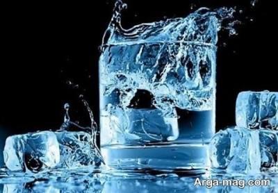 یخ برای درمان کبودی پوست