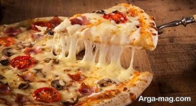 دستور تهیه پیتزا فلورانس