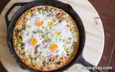 طرز تهیه پیتزا فلورانس با طعم متفاوت