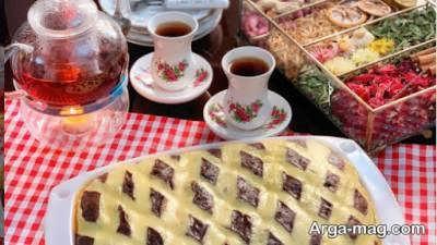 آموزش طرز تهیه کیک لحاف